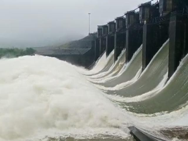 Video : Karnataka Opens Dams As Water Level In Rivers Rises After Heavy Rain
