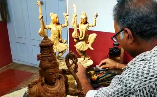 Karnataka Craftsman Makes Idols Of Lord Ram, His Sons For Ayodhya Temple
