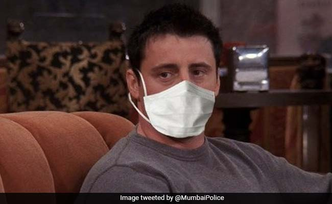 In Mumbai Police's ROFL Tweet, Joey Tribbiani 'Doesn't Share Masks.' Be Like Joey