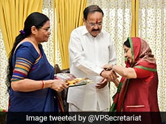 """Dear Sister Sushma, Missing You A Lot"": Vice President On Raksha Bandhan"