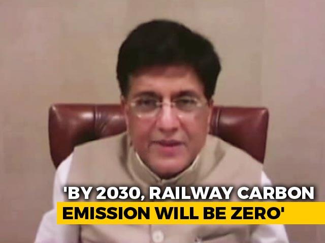 Video : Piyush Goyal Tweets Why 2030 Is Big Year For Indian Railways