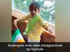 Inaaya Khemu ने हाथ में झंडा लेकर गाया 'राष्ट्रगान', वायरल Video में दिखा क्यूट अंदाज