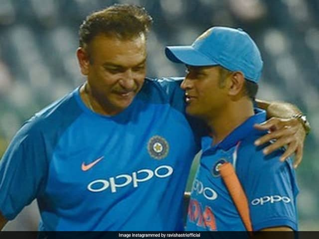 """MS Dhoni Retires: Ravi Shastri Salutes One Of """"Indias Greatest Cricketers"""""""