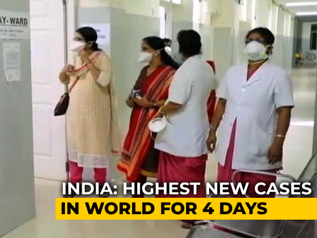 Video : India Reports More Cases Than US, Brazil For 4th Consecutive Day