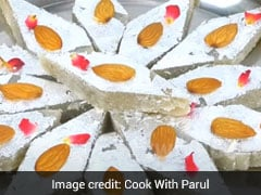 Janmashtami 2020: This <i>Makhana Katli</i> Can Be Made In Just 10 Min With 1 Spoon <i>Ghee</i> (Watch Recipe Video)