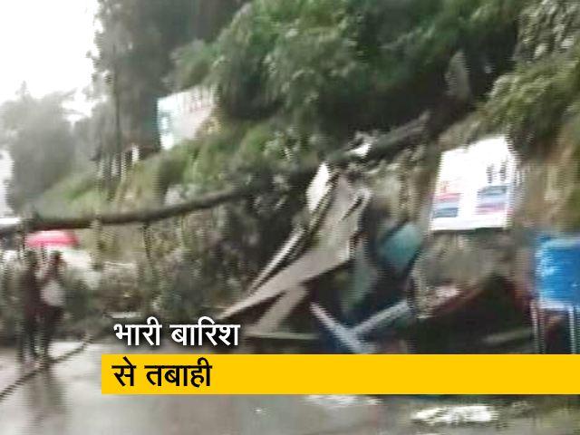 Videos : उत्तराखंड में भारी बारिश और भूस्खलन से कई रास्ते बंद