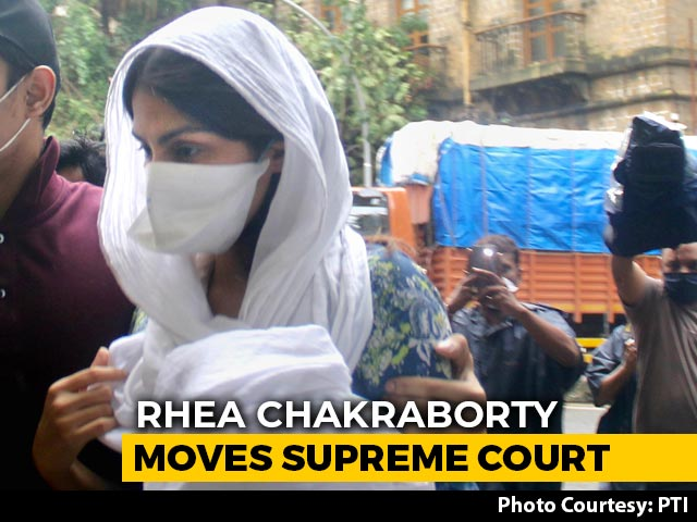 Video: Rhea Chakraborty Goes To Supreme Court Over 'Unfair Media Trial'