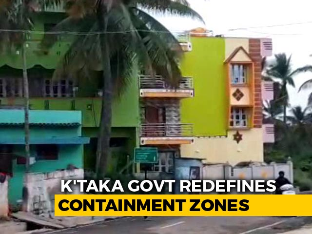 Video: Karnataka Redefines Containment Zone As Bengaluru Covid Cases Near 1 Lakh
