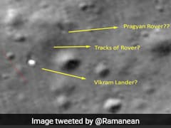 """Chandrayaan 2's Rover Intact On Moon"": Techie Who Spotted Lander Vikram"