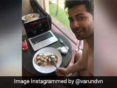 Varun Dhawan's Delish Sunday Spread Was Sent Over By This Bollywood Actor