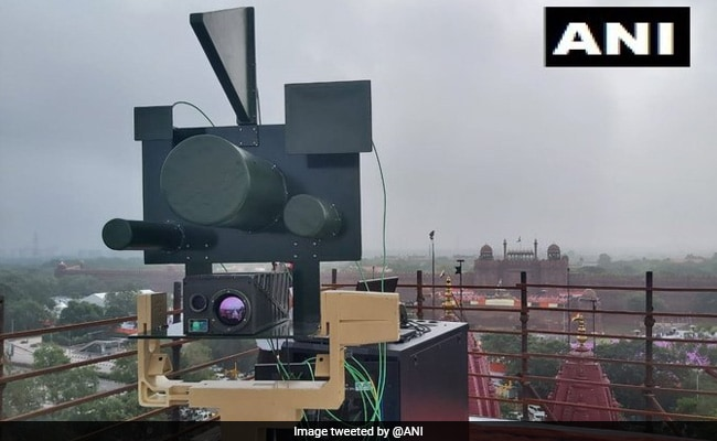 'Made In India' Laser Weapon Scanned Sky For Drones During PM's Address