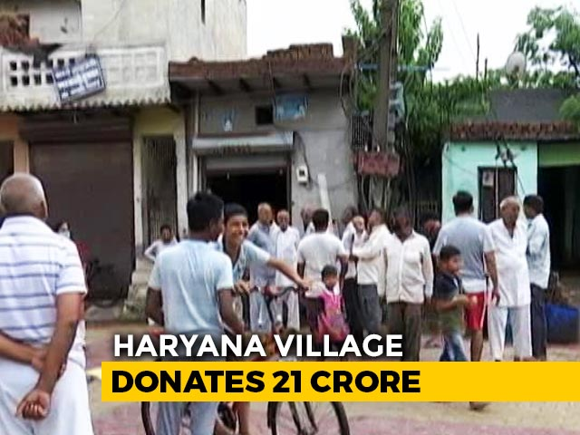 Video: 5 Haryana Villages Give Rs. 50 Crore For Covid, Residents Say No Basic Facilities
