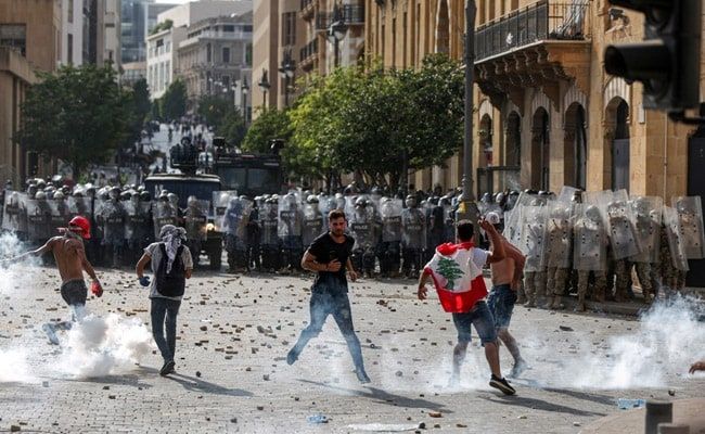 'Execute Them': Lebanon Protesters Demand Revenge After Explosion