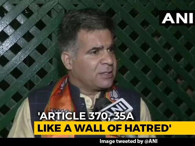 Video : Kashmir Politicians Day-Dreaming, Restoration Of Article 370 Impossible: BJP