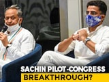 Video : Congress Sources Claim 'Breakthrough' In Rajasthan, Team Pilot Denies