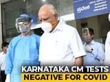Video : Karnataka Chief Minister Back Home Week After Testing Coronavirus +ve
