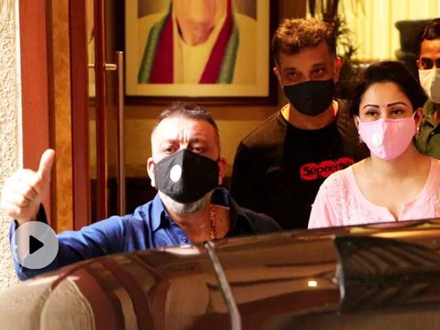 मान्यता दत्त बोलीं- मुंबई में होगा संजय दत्त का शुरुआती इलाज, लोगों से बीमारी को लेकर अटकलें नहीं लगाने का अनुरोध