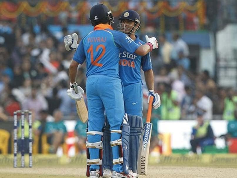 """Yuvraj Singh Credits MS Dhoni For Showing """"Real Picture"""" Regarding His India Future"""