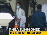 Video : Day 2 Of CBI Questioning For Rhea Chakraborty After 10 Hours Yesterday