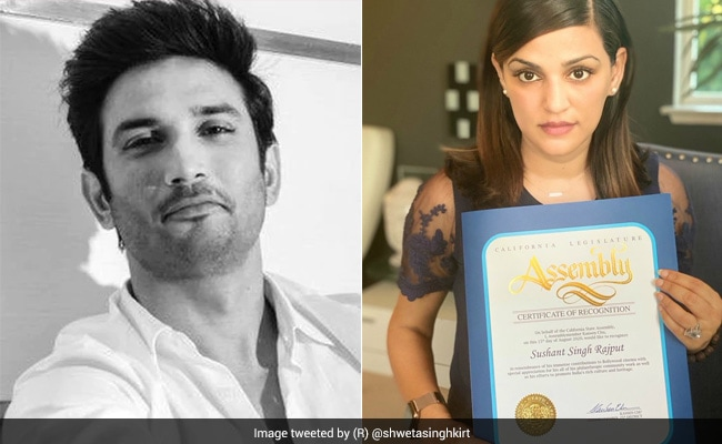 Sushant Singh Rajput's 'Immense Contributions To Bollywood' Honoured In US