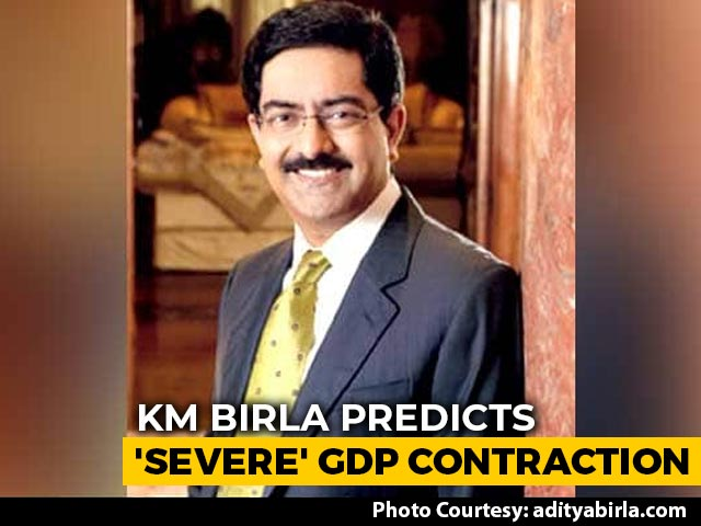 Video : Kumar Mangalam Birla Predicts 'Severe' GDP Contraction