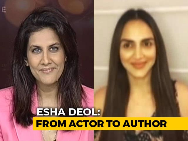 Video : Actor Esha Deol, Now An Author, Gives Advice To Young Moms
