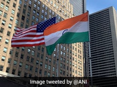 In Pics: India's Flag Hoisted At New York's Times Square On Independence Day