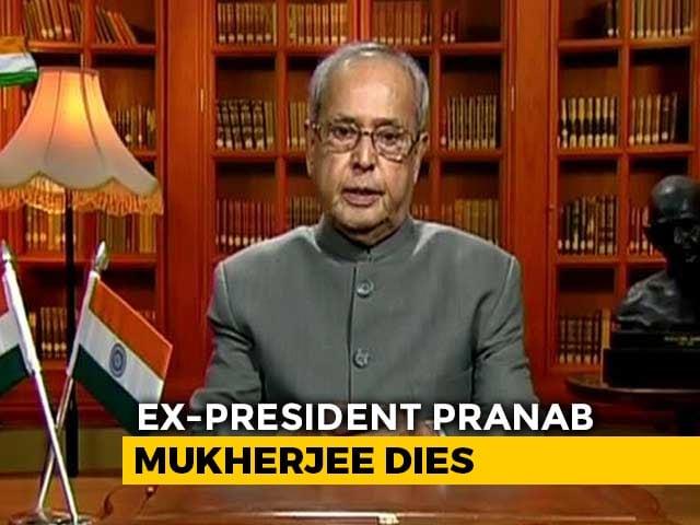 "Video : Called ""Best PM India Never Had"", Pranab Mukherjee Had Bipartisan Respect"