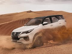 Toyota Fortuner TRD Limited Edition Launched In India; Prices Start At Rs. 34.98 Lakh