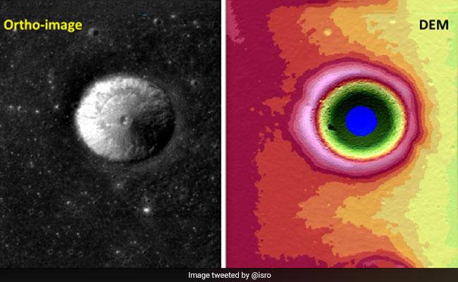 ISRO Names Moon Crater Captured By Chandrayaan-2 After Vikram Sarabhai