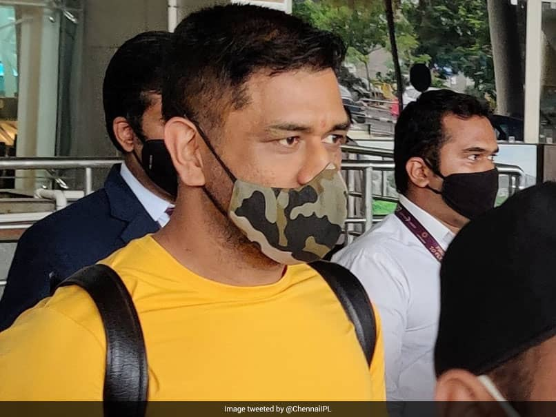 MS Dhoni, Other CSK Players Arrive In Chennai For Camp Ahead Of IPL 2020