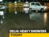 Video : Heavy Overnight Rain In Delhi, Waterlogging Reported In Several Areas