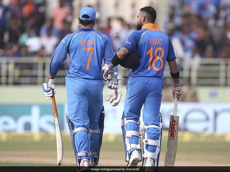 """Tip My Hat To You"": Virat Kohlis Emotional Post As MS Dhoni Announces Retirement"