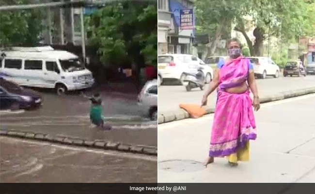 In Rain, Mumbai Woman Stood For 7 Hours Near Manhole To Save People