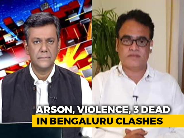 Video: 'Will Recover Damages From Those Responsible': Karnataka Minister On Bengaluru Clashes