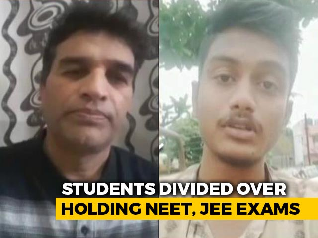 Video : Students Divided Over Holding NEET, JEE Exams Amid Covid
