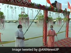 """Foundation Of New India"": Yogi Adityanath Reviews Ayodhya Event Preparations"