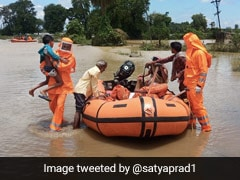 Floods In 3 Gujarat Districts As Narmada River Swells, Over 9,000 Shifted