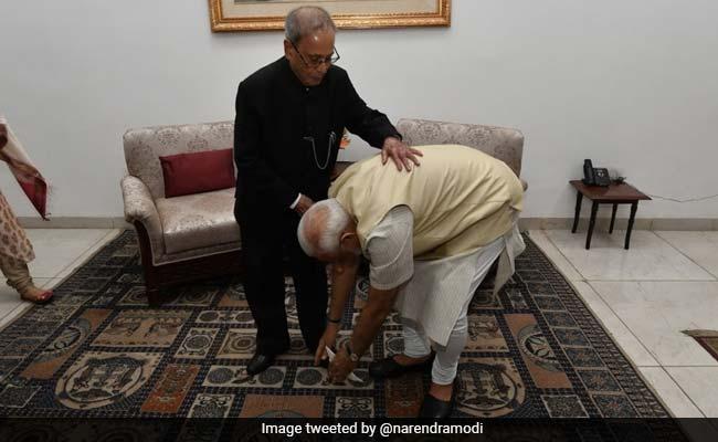 'I Was New To Delhi...' Read PM Modi's Tribute To Pranab Mukherjee
