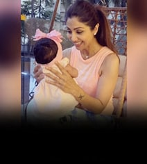 Shilpa's 6-Month-Old Daughter Is Showing 'Signs Of Being Independent'