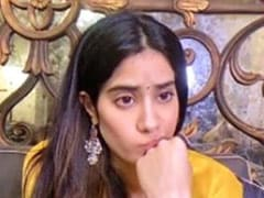 "Janhvi Kapoor Sums Up Her Different ""Moods Of Digital Promotions"" In A Post"