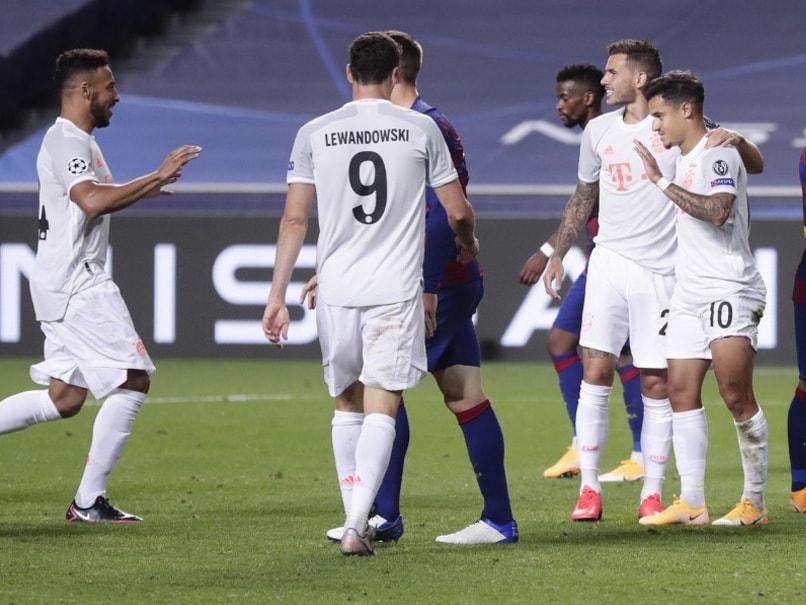 Bayern Munich Humiliate Barcelona 8 2 To Reach Champions League Semi Finals Football News