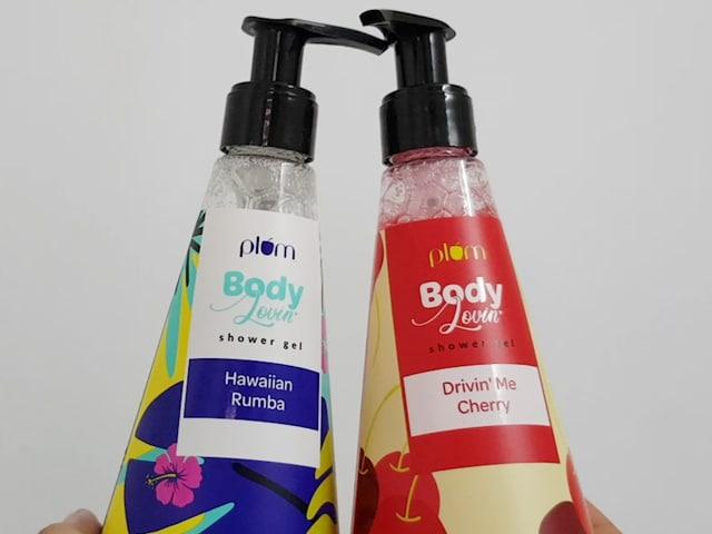 Video : We Tried The Plum BodyLovin' Shower Gels In 2 Different Variants