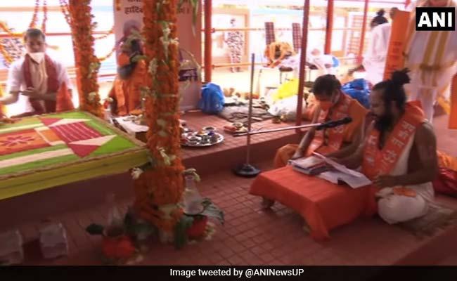 भूमि पूजन के पहले अयोध्या में शुरू हुई रामार्चन पूजा, देवी-देवता किए गए 'आमंत्रित'