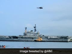 "Uncertainty Over Plans To Turn Aircraft Carrier Into Museum, File ""Stuck"""