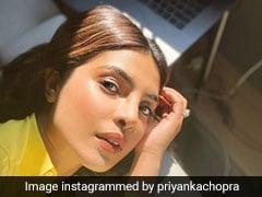 Priyanka Chopra Is A Ray Of Sunshine In A Bright Shirt For Office Wear