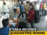 Video : Karnataka Scraps Compulsory Quarantine, Covid Test For Interstate Travel