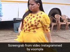 कॉमेडियन Bharti Singh कैटवॉक करते हुए पति हर्ष के जा लगीं गले, Video में बोलीं- सामाजिक दूरी...