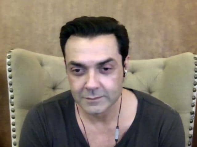 Video : Bobby Deol Talks About His New Film And His Friendship With SRK And Salman