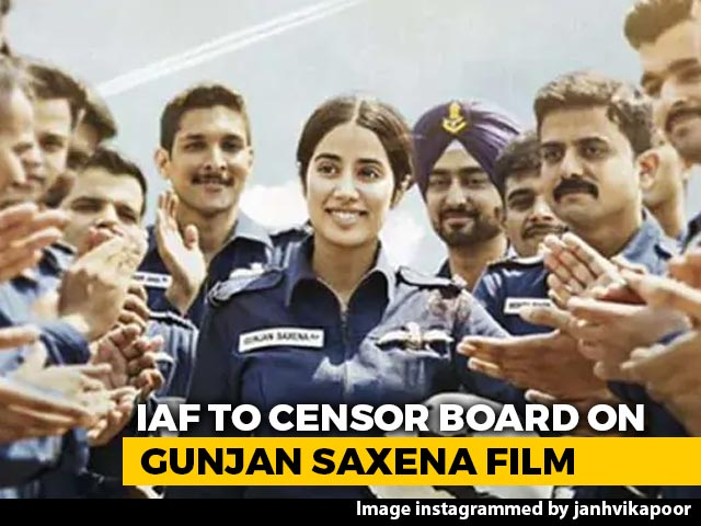 Video: IAF Writes To Censor Board Over 'Negative Portrayal' In 'Gunjan Saxena'
